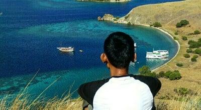 Photo of Scenic Lookout Gili Lawa Islands at Komodo, Nusa Tenggara Timur, Indonesia