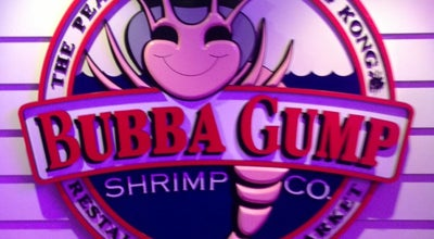 Photo of Seafood Restaurant Bubba Gump at Shop 304-305, 3/f, The Peak Tower, 128 Peak Rd, The Peak, Hong Kong