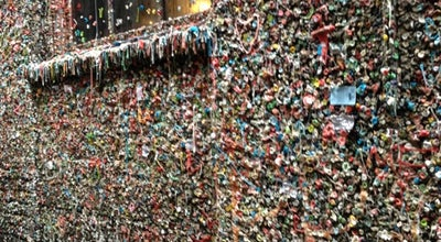 Photo of Monument / Landmark Gum Wall at 1530 Post Aly, Seattle, WA 98101, United States