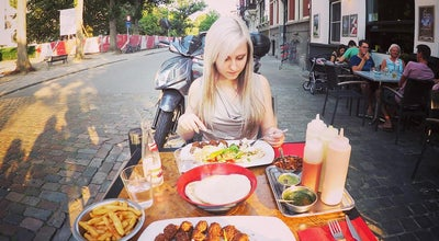 Photo of Kebab Restaurant Finjan at Graaf Van Hoornestraat 1, Antwerpen 2000, Belgium