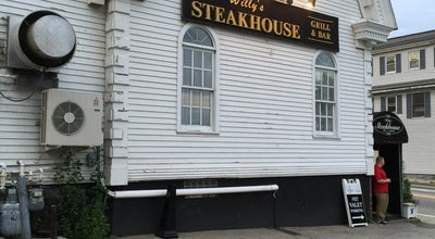 Photo of Steakhouse Willy's Steakhouse Grill & Sushi Bar at 2 Grafton Street, Shrewsbury, MA 01545, United States