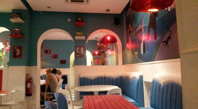 Photo of Burger Joint Lunch Box Restaurant & Tiki Room at C. Barco, 8, Madrid 28004, Spain