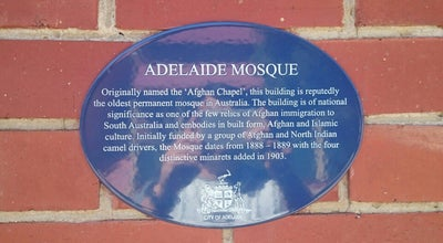 Photo of Mosque Adelaide City Mosque at 20 Little Gilbert St., Adelaide, SA 5000, Australia