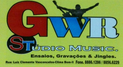 Photo of Concert Hall GWR Estudio at Brazil