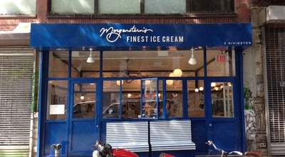 Photo of Ice Cream Shop Morgenstern's Finest Ice Cream at 2 Rivington St, New York, NY 10002, United States