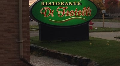 Photo of Italian Restaurant Ristoranté Di Fratelli at 49860 Van Dyke Ave, Shelby Township, MI 48317, United States