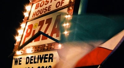Photo of Pizza Place Boston House Of Pizza at 540 Taunton Ave, East Providence, RI 02914, United States