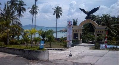 Photo of Lake Marina bay at Indonesia