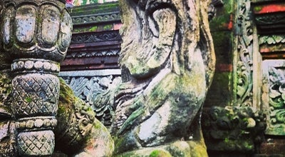 Photo of Temple Pura Dalem Agung Desa Pakraman Padangtegal at Jl. Monkey Forest, Padangtegal, Ubud, Gianyar - Bali 80571, Indonesia