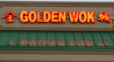 Photo of Chinese Restaurant Golden Wok at 1216 Bridford Pkwy, Greensboro, NC 27407, United States