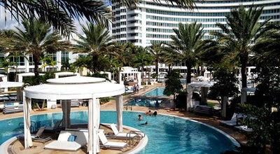 Photo of Resort Fontainebleau Miami Beach at 4441 Collins Avenue, Miami Beach, FL 33140, United States