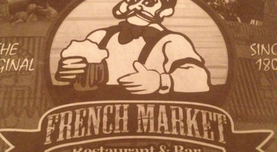Photo of Seafood Restaurant French Market Restaurant & Bar at 1001 Decatur St, New Orleans, LA 70116, United States