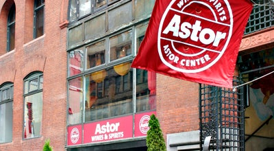 Photo of Tourist Attraction Astor Center Wines & Spirits at 399 Lafayette St, New York, NY 10003, United States