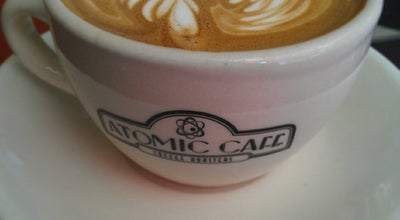 Photo of Coffee Shop Atomic Café at 265 Cabot St, Beverly, MA 01915, United States