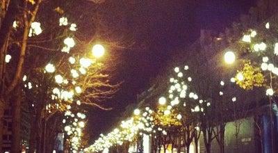 Photo of Road Avenue Montaigne at Avenue Montaigne, Paris 75008, France