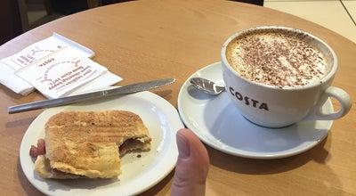 Photo of Coffee Shop Costa Coffee at Livingston EH54 6QX, United Kingdom