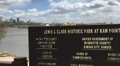 Photo of Park Lewis and Clark Historic Park at Kaw Point at Kansas City, KS, United States
