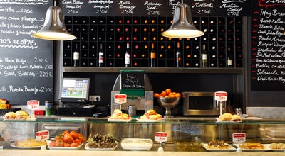 Photo of Tapas Restaurant Mercado de la Reina at C. Gran Vía, 12, Madrid 28013, Spain