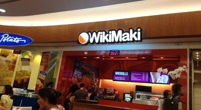Photo of Sushi Restaurant WikiMaki at Parkshoppingbarigüi, Curitiba 81200-100, Brazil