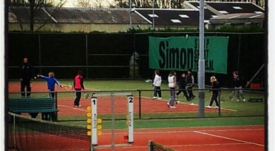 Photo of Tennis Court Tennis & Padelclub Maaspoort at Marathonloop 2, 's-Hertogenbosch 5235, Netherlands