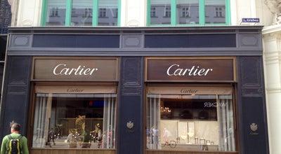 Photo of Jewelry Store Cartier Boutique at Kohlmarkt 4, Vienna 1010, Austria