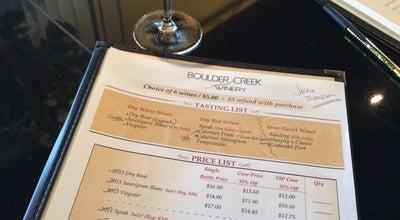 Photo of Other Venue Boulder Creek Winery at 6440 Odell Pl, Boulder, CO 80301
