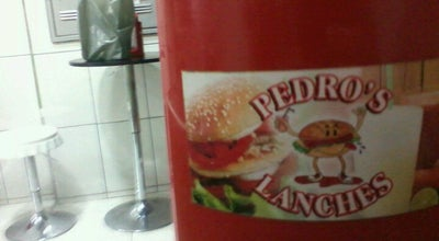 Photo of Burger Joint Pedro's Lanche at Lorena, Brazil