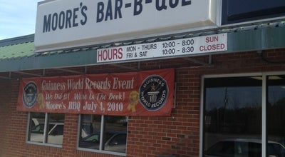 Photo of BBQ Joint Moore's Olde Tyme Barbeque at 3621 Dr. Martin Luther King Jr Blvd., New Bern, NC 28562, United States