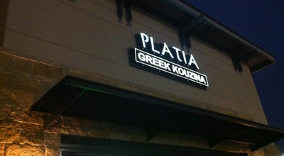 Photo of Greek Restaurant Platia Greek Kouzina at 1590 Gaylord Pkwy., Frisco, TX 75035, United States