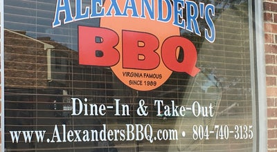 Photo of BBQ Joint Alexander's BBQ at 1126 Westbriar Dr, Richmond, VA 23238, United States