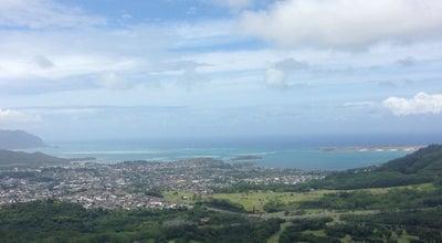 Photo of Trail Nuuanu Pali Lookout at Honolulu, HI, United States