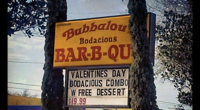 Photo of BBQ Joint Bubbalou's Bodacious Bar-B-Q at 1049 E Altamonte Dr, Altamonte Springs, FL 32701, United States