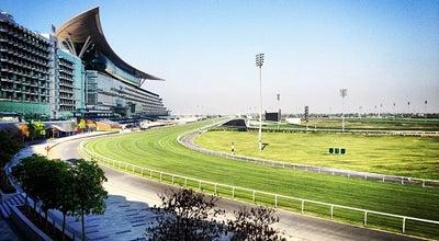 Photo of Racetrack Meydan Racecourse مضمار ميدان at Nad Al Sheba, Dubai, United Arab Emirates