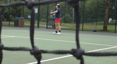 Photo of Tennis Court Grass Lawn Tennis Courts at Redmond, WA 98052, United States