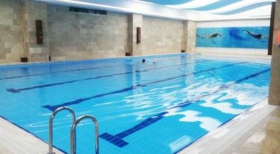 Photo of Pool Atlantis sports center kapali yuzme havuzu at Turkey