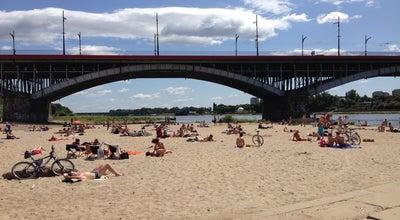 Photo of Beach Plaża Miejska at Most Księcia Józefa Poniatowskiego, Warszawa, Poland