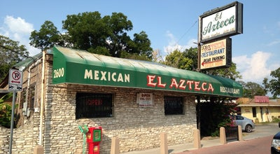 Photo of Mexican Restaurant El Azteca at 2600 E 7th St, Austin, TX 78702, United States