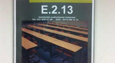 Photo of College Classroom E.2.13 at Pleinlaan / Bd De La Plaine, Ixelles 1050, Belgium