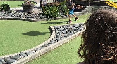 Photo of Mini Golf Lilliputt Mini Golf at 3 Tamaki Dr, Auckland, New Zealand