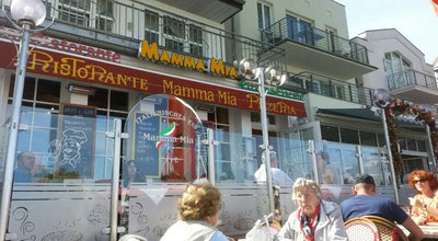 Photo of Italian Restaurant Restaurante Mamma Mia at Am Strom 101, Rostock 18119, Germany