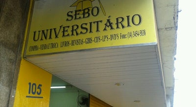 Photo of Bookstore Sebo Universitário at R. Prudente De Moraes, 105, Marília 17500-140, Brazil