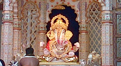 Photo of Temple Dagdusheth Halwai Ganpati Mandir at N C Kelkar Road, Pune 411030, India
