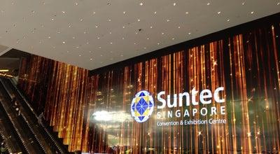 Photo of Convention Center Suntec Singapore International Convention & Exhibition Centre at 1 Raffles Blvd., Singapore 039593, Singapore