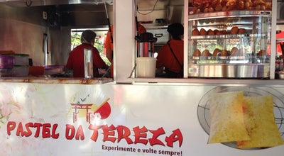Photo of Food Truck Pastel Da Tereza (Feira de domingo) at Av.  Castro Alves, Rolândia 86600-000, Brazil