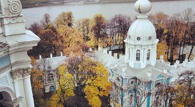 Photo of Temple Смольный собор at Пл. Растрелли, 1, Лит. А, Санкт-Петербург 191124, Russia