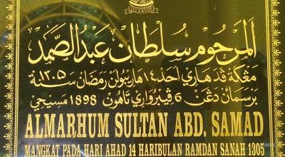 Photo of Monument / Landmark Makam Sultan Abdul Samad at Jalan Permatang Pasir, Jugra, Malaysia