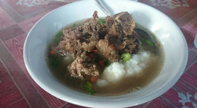 Photo of Breakfast Spot Bubur sop tulang at Jl.kom Yos Sudarso, Pontianak, Indonesia