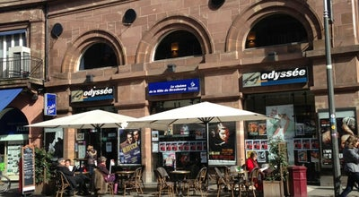 Photo of Indie Movie Theater Cinema Odyssée at 3 Rue Des Francs Bourgeois, Strasbourg 67000, France