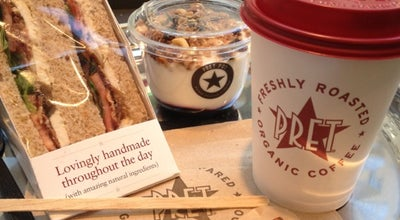 Photo of Fast Food Restaurant Pret A Manger at 60 Broad St, New York City, NY 10004, United States