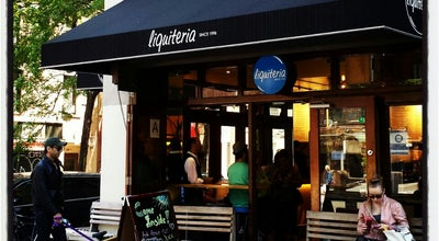 Photo of American Restaurant Liquiteria at 170 2nd Ave, New York, NY 10003, United States
